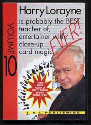 DVD ever Vol.10 du magicien Harry Lorayne