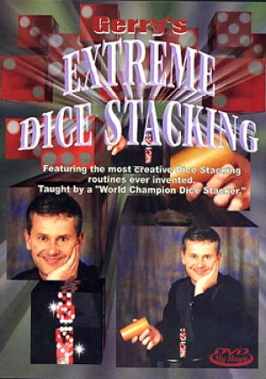 DVD de magie Extreme Dice Stacking