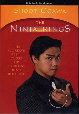 DVD The Ninja Rings du magicien Shoot Ogawa