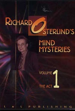DVD Mind Mysteries Vol. 1 du magicien mentaliste Richard Osterlind
