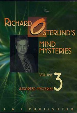 DVD Mind Mysteries Vol. 3 du magicien Richard Osterlibnd