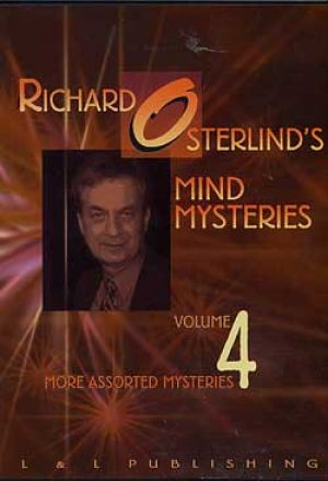 DVD Mind Mysteries Vol. 4 par le magicien Richard Osterliend
