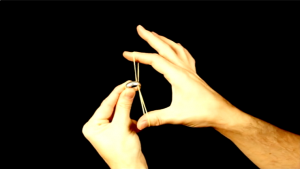 Ultra Rubber Band Through Ring - video DOWNLOAD