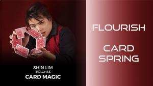Card Spring Flourish by Shin Lim (Single Trick) video DOWNLOAD