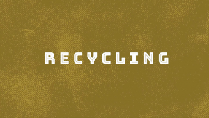 Recycling by Sandro Loporcaro (Amazo) video