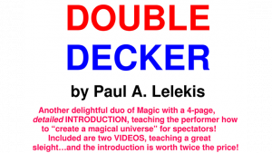 DOUBLE DECKER by Paul A. Lelekis Mixed Media