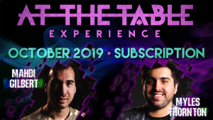 At The Table October 2019 Subscription video