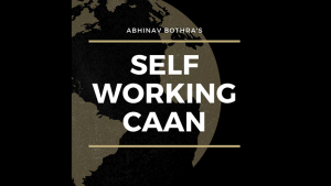 Self Working CAAN by Abhinav Bothra mixed media