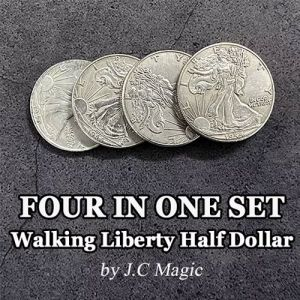 FOUR IN ONE SET - WALKING LIBERTY