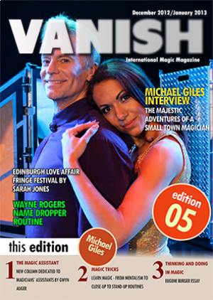 VANISH Magazine December 2012/January 2013 eBook DOWNLOAD
