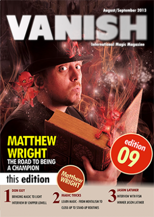 VANISH Magazine August/September 2013 eBook DOWNLOAD