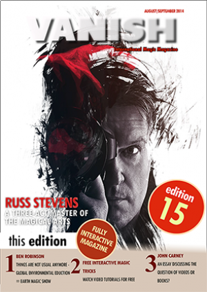 VANISH Magazine August/September 2014 eBook DOWNLOAD