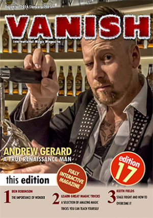 VANISH Magazine December 2014/January 2015 eBook DOWNLOAD