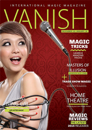 VANISH Magazine December 2015/January 2016 eBook DOWNLOAD