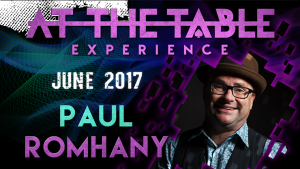 At The Table Live Lecture Paul Romhany 07-06-2017