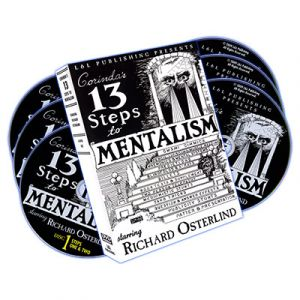 DVD 13 Steps To Mentalism avec Richard Osterlind