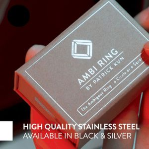 AMBI RING - NOIRE
