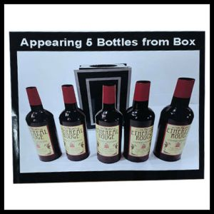 APPEARING 5 BOTTLE FROM EMPTY BOX - TORA