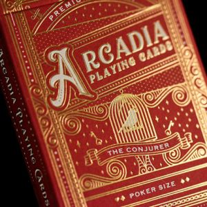 Arcadia playings cards conjurer tour de magie jeu de cartes