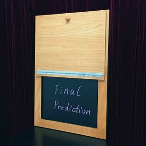 Ultimate board prediction - ardoise à prédiction pour mentaliste