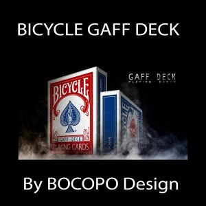 BICYCLE GAFF DECK (rouge) - BOCOPO