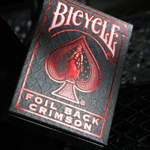 Bicycle Crimson Luxe Rouge