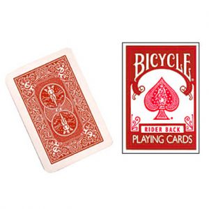 Bicycle MINI - Rider Back Rouge