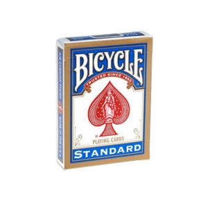 Jeu de cartes Bicycle poker rider back Rouge