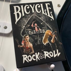 Bicycle rock and roll eedition limite musique tour de magie carte a jouer de magicien