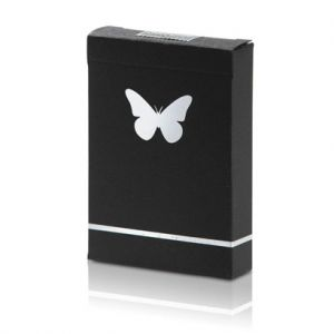 JEU DE CARTES BUTTERFLY MARQUE - BLACK AND SILVER