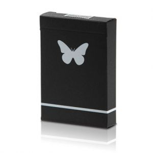 JEU DE CARTES BUTTERFLY MARQUE - BLACK AND WHITE