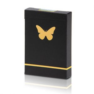 JEU DE CARTES BUTTERFLY MARQUE - BLACK AND GOLD