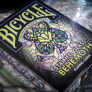 BICYCLE STAINED GLASS BEHEMOTH - Jeu de Cartes