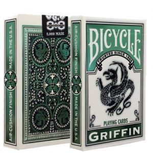 Jeu de cartes de collection Bicycle GRIFFIN Club 808