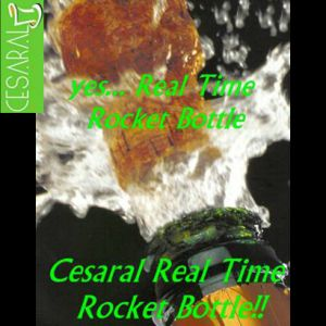 REAL TIME ROCKET BOTTLE - CESARAL