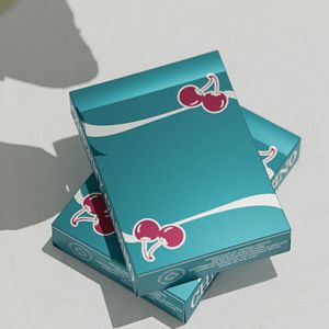 CHERRY CASINO TROPICANA TEAL - JEU DE CARTES