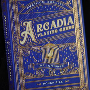 arcadia playing cards conjurer tour de magie cartes magicien