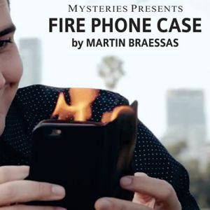 FIRE PHONE CASE - TELEPHONE EN FEU (Grand)