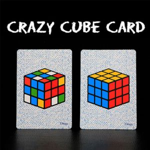 CRAZY CUBE CARD