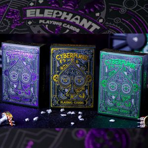 Jeu de cartes Cyberpunk by Elephant Playing cards