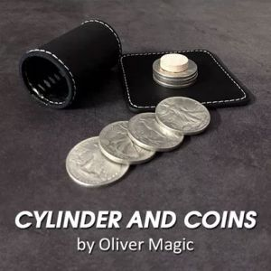 CYLINDER AND COINS - OLIVER MAGIC