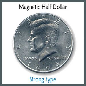 demi dollar super strong aimant aimantation magnet tour de magie kreis