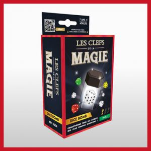 dice bomb tour de magie dé mentalisme les clefs de la magie production magic dream