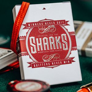 JEU DE CARTES DMC SHARK V2