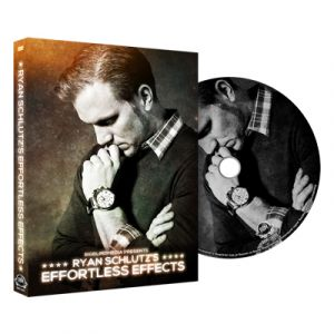 dvd de magie effortless effects du magicien RYAN SCHULTZ