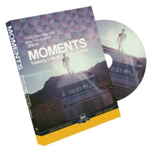 dvd de magie moments du magicicen ROY ADAMS