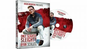 DVD de magie ONLY SLIGHTLY SLEOGHTY du magicien RYAN SCHULTZ