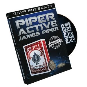 dvd de magie piper active vol.1 du magicien JAMES PIPER