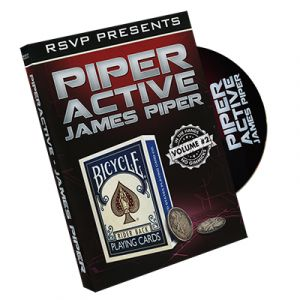 dvd de magie piper active vol.2 du magicien JAMES PIPER