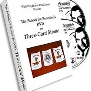 SCHOOL FOR SCOUNDRELS : DVD ON THREE CARD MONTE